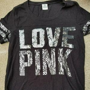 Love Pink black shirt